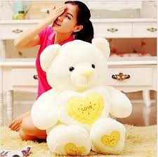 big bears for valentines day 80 cm big teddy plush toys with heart lover gift for