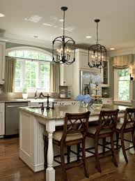Kitchen Island Chandelier Lighting Dining Room Beautiful Dining Room Chandeliers On Table Around