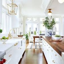 Modern Farmhouse Kitchens Best 25 Butcher Block Kitchen Ideas On Pinterest Butcher Block