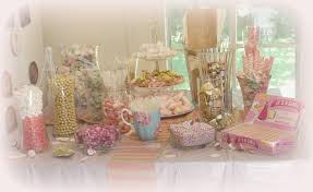 candy bar for baby shower pink and gold baby shower candy buffet time for the holidays