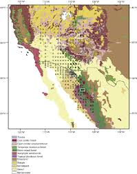 San Felipe Mexico Map by Map Of Modern Biomes Distribution From Sw United States And Nw