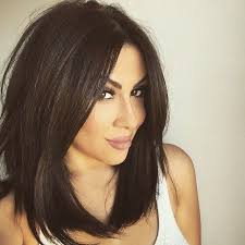 long hairstyles layered part in the middle hairstyle best 25 mid length hair ideas on pinterest medium hair cuts