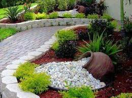Rock Garden Landscaping Ideas For The Problem Hill Out Front Gardens Pinterest Rocks