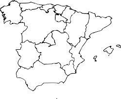 Map Of Spain by Clipart Map Of Spain