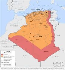 algeria physical map smartraveller gov au algeria
