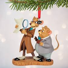 disney basil and dawson sketchbook ornament the