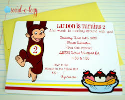 Curious George Centerpieces by Social O Logy Invitations And Design Landon Is 2