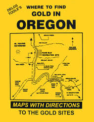 map of oregon gold mines to find gold in oregon