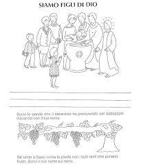il giardino degli angeli catechismo carta d identit罌 per bambini da colorare sm28 pineglen