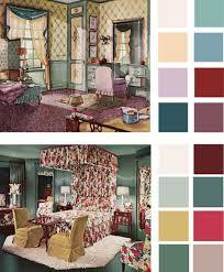 room color palette 6 color palettes based on early 1900s vintage bedrooms