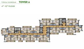 damac golf vita apartments at damac hills floor layout plan