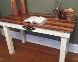 Desk Used Wood Desks For Sale Build A Wood Plank Desktop For by Reclaimed Wood Desk Etsy