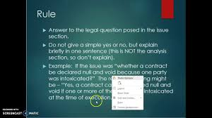 lexisnexis questions and answers contract law briefing a case putting together a firac case brief youtube