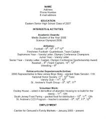 academic resume for college applications resume for college application template vasgroup co