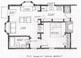 floor plans with inlaw quarters small scale homes floor plans for garage to apartment conversion
