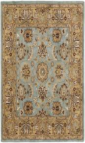 Persian Rugs Scottsdale Blue And Gold Rug Rug Designs