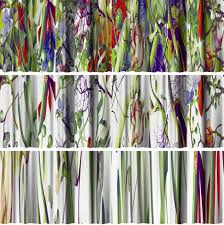 Mexican Kitchen Curtains by Cmyk Colored Curtains 7 Designer Digital Window Drapes