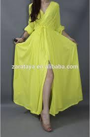 fashion muslim women long sleeve ladies moroccan caftan chiffon