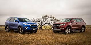 toyota fortuner vs lexus auto buzz ford everest trend v toyota fortuner crusade comparison