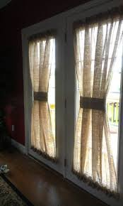 How To Make Roman Shades For French Doors - best 25 curtains for french doors ideas on pinterest burlap