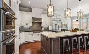 hanging kitchen lights island modern pendant lights astonishing hanging kitchen island of