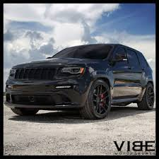 black jeep grand with black rims 22 velgen vmb5 black concave wheels rims fits jeep grand