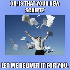 Meme Generator Script - oh is that your new script let me deliver it for you throwing