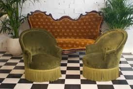 canapé crapaud fauteuils crapaud ancien rétro vinatge style luois philippe