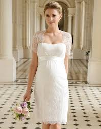 pregnancy wedding dresses cut out lace maternity wedding dress seraphine