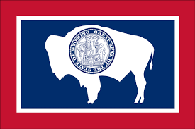 State Flag Of North Dakota Wyoming State Flag Flagnations