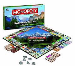 amazon com monopoly national parks edition game toys u0026 games