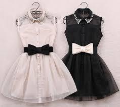 women fashion solid white black sleeveless pearls collar casual