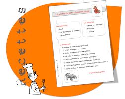 recette de cuisine en recettes de cuisine pour la classe bout de gomme