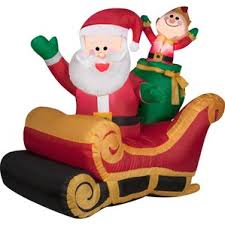 christmas sleigh outdoor holiday decorations you u0027ll love wayfair