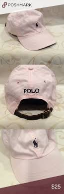light pink polo baseball cap like new polo by ralph lauren baseball cap ralph lauren