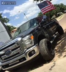 Ford F250 Truck Rims - wheel offset 2014 ford f 250 super duty hella stance 5 stock