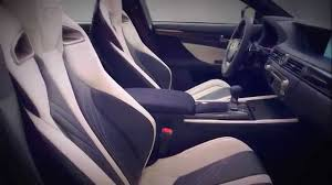 lexus gsf interior 2016 lexus gs f interior youtube
