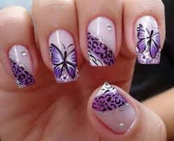 Nail Designs Cheetah 30 Pretty Butterfly Nail Designs