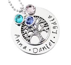 children s birthstone necklace 39 best family tree birthstone necklace images on