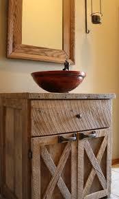 Custom Built Bathroom Vanities Best 25 Small Rustic Bathrooms Ideas On Pinterest Pertaining To