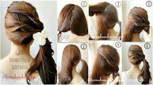 tutorial rambut waterfall cara kepang waterfall reinahairdo