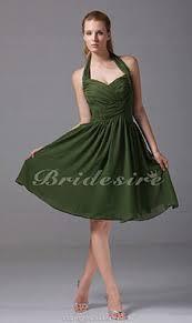 a linie herzausschnitt knielang chiffon brautjungfernkleid mit gestupft p551 bridesire brautjungfernkleider 2017 günstige trauzeugin