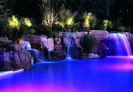 Colored Landscape Lighting Colored Landscape Lighting Led Color Changing Low Voltage Lenses