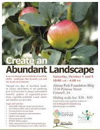 edible native plants abundant landscape workshop oct 1 u0026 8 u2013 imaginegrinnell