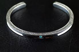 man silver bangle bracelet images Japan gothic jewelry simple gothic style grass and flowers pattern jpg