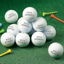 personalized golf balls one dozen gifts for