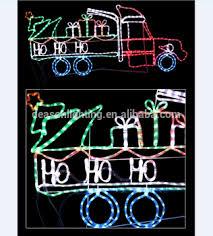 ho ho ho truck led rope light silhouette buy