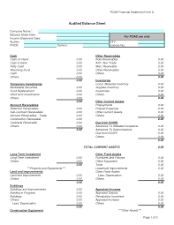 Excel Balance Sheet Template Free Free Printable Balance Sheet Template Worksheet Accounts Assets