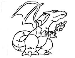 charizard coloring pages coloringsuite