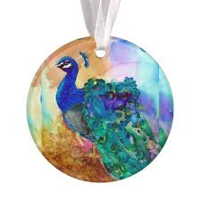 peacock tree ornaments 2017 trendy peacock